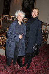 EMMA THOMPSON and her mother PHYLLIDA LAW at the Audi Ballet Evening held at the Royal Opera House, Bow Street, Covent Garden, London on 22nd March 2012.