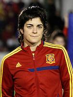 Fifa Womans World Cup Canada 2015 - Preview //  Friendly Match -<br /> Spain vs New Zealand 0-0  ( Municipal Stadium - La Roda , Spain ) <br /> Ane Bergara of  Spain