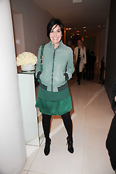 SHARLEEN SPITERI at a party to celebrate Lancome's 10th anniversary of sponsorship of the BAFTA's in association with Harper's Bazaar magazine held at St.Martin's Lane Hotel, London on 19th February 2010.