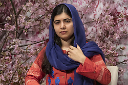 March 23, 2019 - Tokyo, Japan - Nobel Peace Prize laureate Malala Yousafzai attendsthe 5th World Assembly for Women (WAW!) and Women 20 (W20) in Tokyo. Malala Yousafzai visited Japan for the first time to attend the 5th WAW! organized by the Japanese government. This year the WAW! in collaboration with the Women 20, one of the G20 engagement groups established to make recommendations to G20, invited female leaders from politics, business and society to discuss the roles of women in their countries and affiliations. The event is held from March 23 to 24 at the Hotel New Otani Tokyo. (Credit Image: © Rodrigo Reyes Marin/ZUMA Wire)