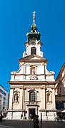 Stiftskirche Parish church on Mariahilferstrasse in district 6 Vienna, Austria