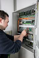 bedrijfsreportage voor Sterkens Security-werkzaamheden bij Ahlers Belgium in Evergem-foto joren de weerdt