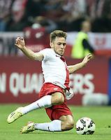Fotball<br /> 11.10.2014<br /> Foto: Witters/Digitalsport<br /> NORWAY ONLY<br /> <br /> Maciej Rybus (Polen)<br /> Fussball, EM-Qualifikation, Polen - Deutschland 2:0