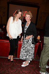 Left to right, JANE GOTTSCHALK and her mother MARY TURNER at a private screening of Cages of Shame in aid of Animals Asia UK held at The Electric Cinema, 191 Portobello Road, London W11 on 17th June 2013.