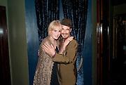 JOANNA LUMLEY; MARK RYLANCE, LA BæTE PRESS NIGHT, COMEDY THEATRE, PANTON STREET, SW1 After party at CafŽ de Paris, 3-4 Coventry Street, 7 July 2010. .-DO NOT ARCHIVE-© Copyright Photograph by Dafydd Jones. 248 Clapham Rd. London SW9 0PZ. Tel 0207 820 0771. www.dafjones.com.<br /> JOANNA LUMLEY; MARK RYLANCE, LA BÊTE PRESS NIGHT, COMEDY THEATRE, PANTON STREET, SW1 After party at Café de Paris, 3-4 Coventry Street, 7 July 2010. .-DO NOT ARCHIVE-© Copyright Photograph by Dafydd Jones. 248 Clapham Rd. London SW9 0PZ. Tel 0207 820 0771. www.dafjones.com.