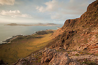Chiniko Archipielago from the mainland of Lanzarote Island, Canary Islands. Spain