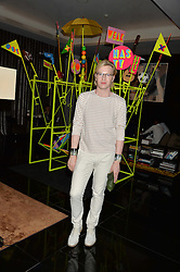 HENRY CONWAY at a dinner at The Bulgari Hotel, 171 Knightsbridge to celebrate The London Design Festival on 13th September 2016.