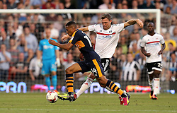 Isaac Hayden of Newcastle United goes past Kevin McDonald of Fulham - Mandatory by-line: Robbie Stephenson/JMP - 05/08/2016 - FOOTBALL - Craven Cottage - Fulham, England - Fulham v Newcastle United - Sky Bet Championship