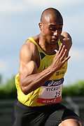 Jimmy Vicaut competes in men 100m during the Athletics French Championships 2018, in Albi, France, on July 6th, 2018 - Photo Philippe Millereau / KMSP / ProSportsImages / DPPI