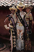 The Beauty Queens of the Barretos Rodeo Championships, Brazil. Aug 2001.