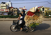 """Roses transport, Hanoi, Vietnam<br /> Available as Fine Art Print in the following sizes:<br /> 08""""x12""""US$   100.00<br /> 10""""x15""""US$ 150.00<br /> 12""""x18""""US$ 200.00<br /> 16""""x24""""US$ 300.00<br /> 20""""x30""""US$ 500.00"""
