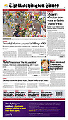 March 24, 2021 (USA): Front-page: Today's Newspapers In United States