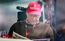 21.05.2019, AUT, ARCHIV, Niki Lauda am 20. Mai im Alter von 70 Jahren verstorben, im Bild Niki Lauda, (AUT, Mercedes AMG Petronas F1 Team), 19.06.2015, Red Bull Ring, Spielberg // ARCHIVE, Niki Lauda passed away on 20 May at the age of 70. Niki Lauda during the Practice of the Austrian Formula One Grand Prix at the Red Bull Ring in Spielberg, Austria, 2015/06/19, EXPA Pictures © 2019, PhotoCredit: EXPA/ JFK