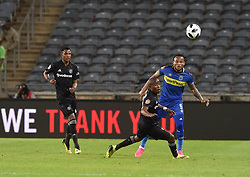 South Africa: Johannesburg: Orlando Pirates Thabo Matlaba and Cape Town City Edmilson Dove during the Premier Soccer League (PSL) at Orlando Stadium in Soweto, Gauteng.<br />19.09.2018<br />Picture: Itumeleng English/African News Agency (ANA)
