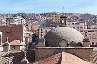 La Paz. <br /> <br /> La Paz, El Alto and Viacha, makes up the most populous urban area in Bolivia, with a population of 2.3 million.