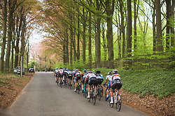 An small group of riders chases the break during Liege-Bastogne-Liege - a 136 km road race, between Bastogne and Ans on April 22, 2018, in Wallonia, Belgium. (Photo by Balint Hamvas/Velofocus.com)