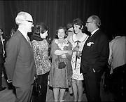 20/04/1970<br /> 04/20/1970<br /> 20 April 1970<br /> Tynagh Mines Dinner Dance at Loughrea, Co. Galway. Mr. AMR Sylvester, Directer IBM (Irish BAse Metals); Mrs Sylvester; Mrs M.V. O'Brien; Mrs R. Shultz and Mr Evan T. Gill, Canadian Ambassador to Ireland.