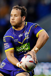 Warrington Wolves' Tyrone Roberts in action against against Huddersfield Giants, during the Betfred Super League match at the Halliwell Jones Stadium, Warrington.