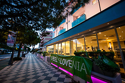 Hotel Lungomare where Team Slovenia is stationed during  UCI Road World Championship 2020, on September 24, 2020 in Rimini, Italy. Photo by Vid Ponikvar / Sportida