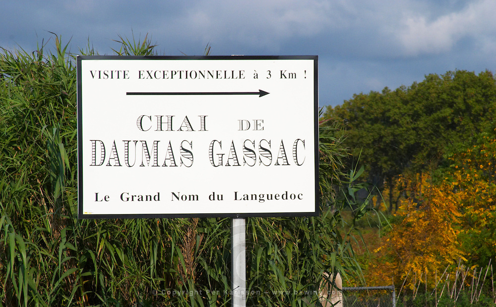 Domaine du Mas de Daumas Gassac. in Aniane. Languedoc. France. Europe.