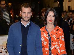 Jamie Dornan and Amelia Warner arriving at the UK Premiere of Mum's List, Curzon Cinema, London.<br /> Photo credit should read: Doug Peters/EMPICS Entertainment