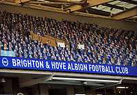 Football - 2019 / 2020 Premier League - Brighton & Hove Albion vs Manchester City<br /> <br /> Cardboard cut outs of the Brighton fans in the stands   , at the Amex Stadium<br /> <br /> COLORSPORT/ANDREW COWIE