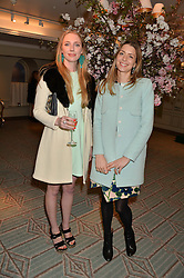 Left to right, FLORENCE HOUSTON and LUCY DAY at the launch of Mrs Alice in Her Palace - a fashion retail website, held at Fortnum & Mason, Piccadilly, London on 27th March 2014.