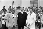 1962 - Eire Society of Boston received by President Eamon de Valera at Aras an Uachtarain
