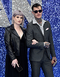 May 20, 2019 - London, United Kingdom - Kelly Osbourne and Jimmy Q are seen during the Rocketman UK Premiere at the Odeon Luxe Leicester Square in London. (Credit Image: © James Warren/SOPA Images via ZUMA Wire)