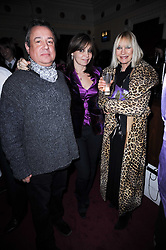 Left to right, Hamish McAlpine, Carole Silla and Virginia Bates at the launch of Heavy Rain for PlayStation 3 held at The Electric Cinema, Portobello Road, London on 15th February 2010.