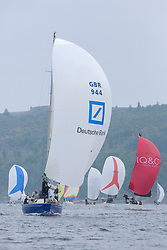 Day 2 Sailing, SCOTLAND<br /> <br /> Class 3, Excession, IMX 38, IRL1880 <br /> <br /> The Scottish Series, hosted by the Clyde Cruising Club is an annual series of races for sailing yachts held each spring. Normally held in Loch Fyne the event moved to three Clyde locations due to current restrictions. <br /> <br /> Light winds did not deter the racing taking place at East Patch, Inverkip and off Largs over the bank holiday weekend 28-30 May. <br /> <br /> Image Credit : Marc Turner / CCC