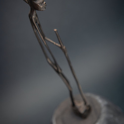 Artesanato de Angola. Esculturas em madeira. Pau preto, ebano.