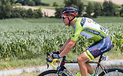 08.07.2016, Stegersbach, AUT, Ö-Tour, Österreich Radrundfahrt, 6. Etappe, Graz nach Stegersbach, im Bild Matthias Krizek (AUT, Team Roth) // Matthias Krizek (AUT Team Roth) during the Tour of Austria, 6th Stage from Gratz to Stegersbach, Austria on 2016/07/08. EXPA Pictures © 2016, PhotoCredit: EXPA/ JFK