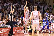 DESCRIZIONE : Reggio Emilia Lega A 2014-15 Grissin Bon Reggio Emilia - Banco di Sardegna Dinamo Sassari playoff Finale gara 5 <br /> GIOCATORE : Ojars Silins<br /> CATEGORIA : esultanza composizione<br /> SQUADRA : Grissin Bon Reggio Emilia<br /> EVENTO : LegaBasket Serie A Beko 2014/2015<br /> GARA : Grissin Bon Reggio Emilia - Banco di Sardegna Dinamo Sassari playoff Finale gara 5<br /> DATA : 22/06/2015 <br /> SPORT : Pallacanestro <br /> AUTORE : Agenzia Ciamillo-Castoria/GiulioCiamillo<br /> Galleria : Lega Basket A 2014-2015 Fotonotizia : Reggio Emilia Lega A 2014-15 Grissin Bon Reggio Emilia - Banco di Sardegna Dinamo Sassari playoff Finale  gara 5<br /> Predefinita :
