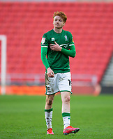 Football - 2020 / 2021 Sky Bet League One - Sunderland vs Lincoln City - Stadium of Light<br /> <br /> Callum Morton of Lincoln City at full time<br /> <br /> Credit: COLORSPORT/BRUCE WHITE