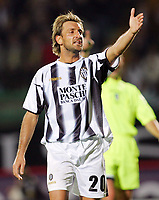 "Locatelli Thomas (Siena)<br /> Italian ""Serie A"" 2006-07<br /> 14 Oct 2006 (match day 6)<br /> Siena-Messina (3-1)<br /> ""A.Franchi"" Stadium-Siena-Italy<br /> Photographer Luca Pagliaricci INSIDE"