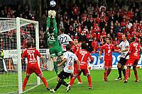 Fotball <br /> 25. september 2011 <br /> Eliteserien <br /> 24. runde Tippeligaen 2011 <br /> Sogndal - SK Brann 1- 0<br /> Fosshaugane Campus, Sogndal<br /> <br /> Foto: Rune Sjøberg, Digitalsport <br /> <br /> Sogndals Ørjan Hopen skrur inn 1 - 0 målet. Feilberegning av Piotr Leciewski?