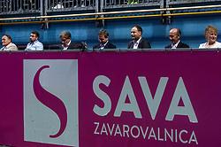 PORTOROZ, SLOVENIA - SEPTEMBER 19: VIP at Singles final during the WTA 250 Zavarovalnica Sava Portoroz at SRC Marina, on September 19, 2021 in Portoroz / Portorose, Slovenia. Photo by Vid Ponikvar / Sportida