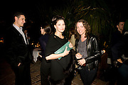 CAMERON SILVER; GINA GERSHON;  SANNY HETEREN, Rodarte Poolside party to show their latest collection. Hosted by Kate and Laura Muleavy, Alex de Betak and Katherine Ross.  Chateau Marmont. West  Sunset  Boulevard. Los Angeles. 21 February 2009 *** Local Caption *** -DO NOT ARCHIVE -Copyright Photograph by Dafydd Jones. 248 Clapham Rd. London SW9 0PZ. Tel 0207 820 0771. www.dafjones.com<br /> CAMERON SILVER; GINA GERSHON;  SANNY HETEREN, Rodarte Poolside party to show their latest collection. Hosted by Kate and Laura Muleavy, Alex de Betak and Katherine Ross.  Chateau Marmont. West  Sunset  Boulevard. Los Angeles. 21 February 2009