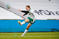 Rugby Union - 2020 / 2021 Gallagher Premiership - Round 4 - Sale Sharks vs London Irish - A J Bell Stadium<br /> <br /> Paddy Jackson of London Irish scores a penalty at A J Bell Stadium<br /> <br /> Credit COLORSPORT/LYNNE CAMERON