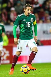 November 13, 2017 - Gdansk, Poland - Andres Guardado (MEX) during the International Friendly match between Poland and Mexico at Energa Stadium in Gdansk, Poland on November 13, 2017. (Credit Image: © Foto Olimpik/NurPhoto via ZUMA Press)