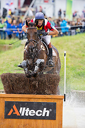Constantin Van Rijckevorsel, (BEL), Goodwins Reef - Eventing Cross Country test- Alltech FEI World Equestrian Games™ 2014 - Normandy, France.<br /> © Hippo Foto Team - Leanjo de Koster<br /> 30/08/14