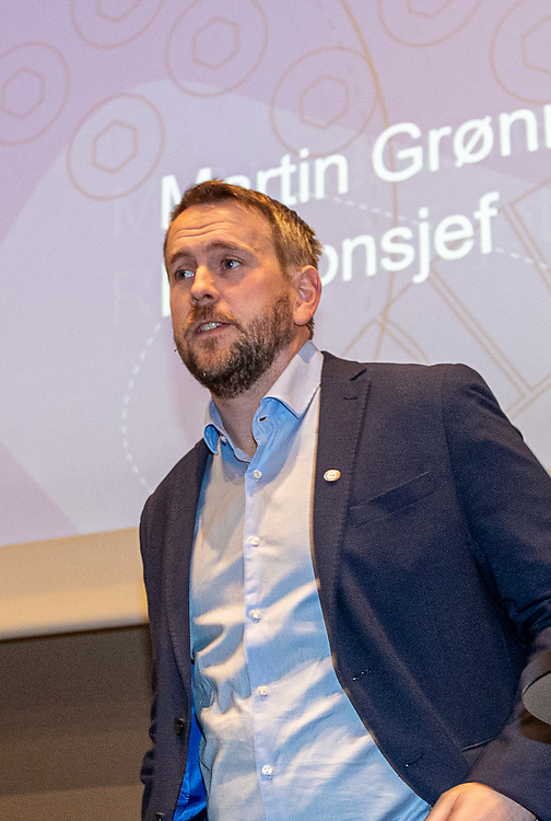 Martin Grønnslett. Foto: Jørn Søderholm