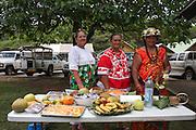Local women French Polynesia, Marquesas Islands, Nuku Hiva