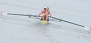 Poznan,  POLAND,  Friday, 17/06/2016, Women's pair Heat GBR W2- Bow Helen GLOVER, Heather STANNING, FISA World Cup III, Malta Lake.[Mandatory Credit; Peter SPURRIER/Intersport-images]