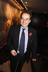 QUENTIN LETTS at a party to celebrate the publication of Catherine Blyth's book 'The Art of Conversation' held at Ralp Lauren, Bond Street, London on 4th November 2008.