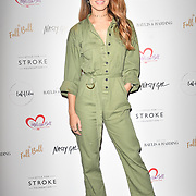 Danielle Peazer attends gala dinner and concert to raise money and awareness for the Melissa Bell Foundation and Style For Stroke Foundation.