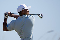 Golf - 2013 Open Championship at Muirfield - Friday Round Two<br /> Tiger Woods of USA tees off on the 6th