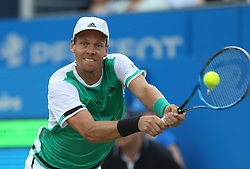 Czech Republic's Tomas Berdych during day five of the 2017 AEGON Championships at The Queen's Club, London.