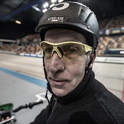 29-12-2018: Wielrennen: NK Baan: Apeldoorn<br />Dernyman Fred Buitenhuis